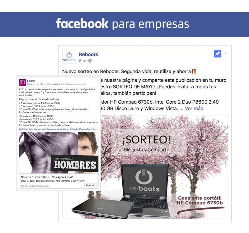 <span>Proyectos</span>Promoción en redes sociales