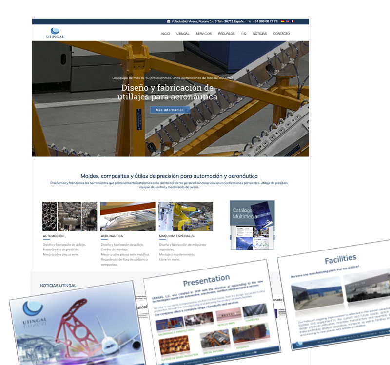 <span>Proyectos</span>Renovación web y otras aplicaciones