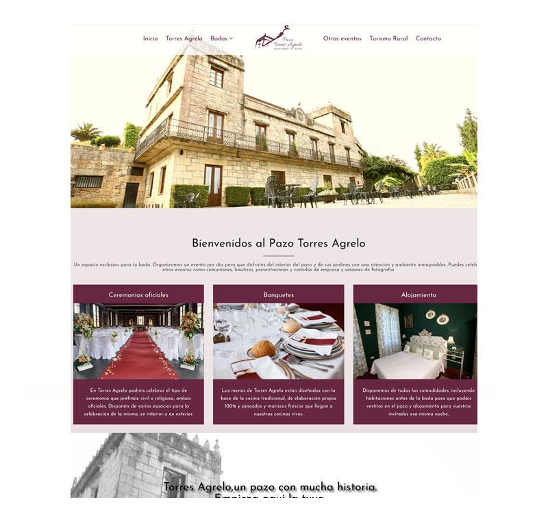 <span>Proyectos</span>Creación página web